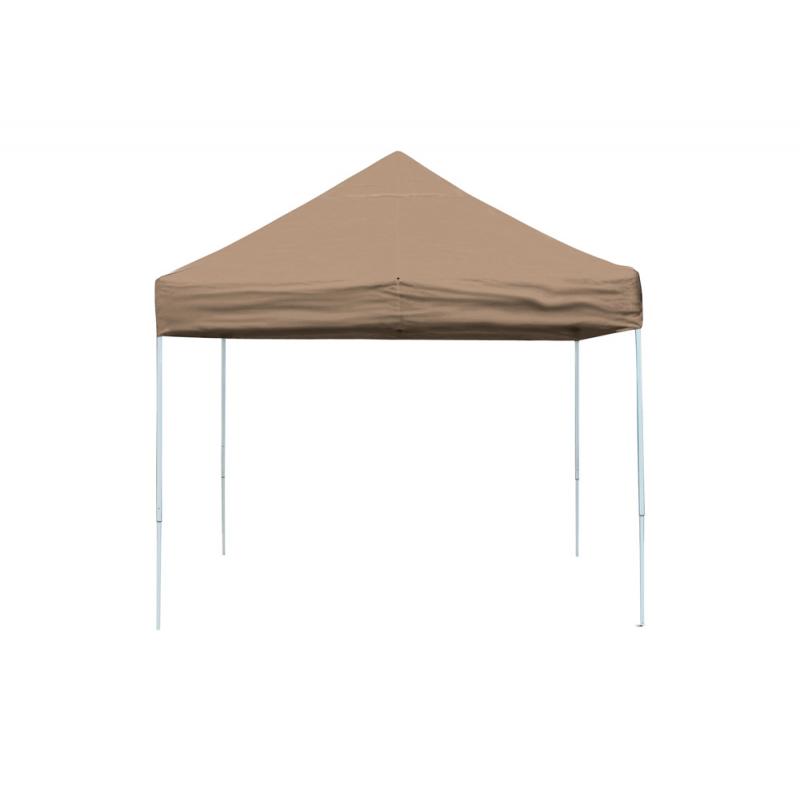 Shelter Logic 10x10 Straight Leg Pop-up Canopy - Bronze (22564)
