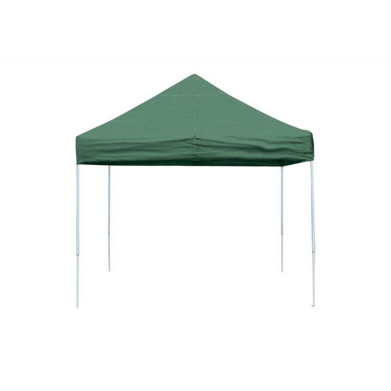 ShelterLogic 10x10 Straight Leg Pop-up Canopy - Green (22563)