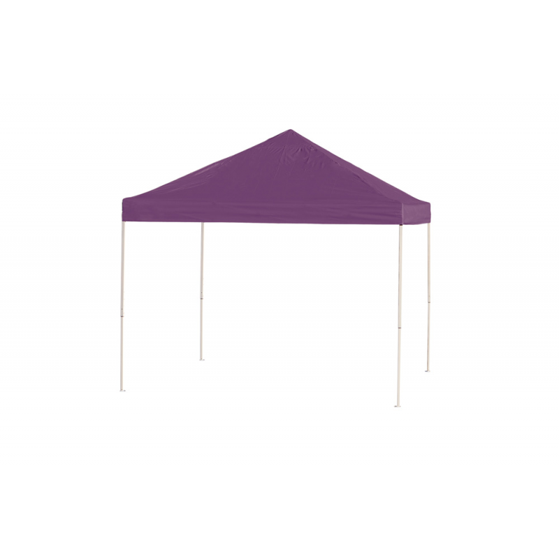 Shelter Logic 10x10 Straight Leg Pop-up Canopy - Purple (22703)