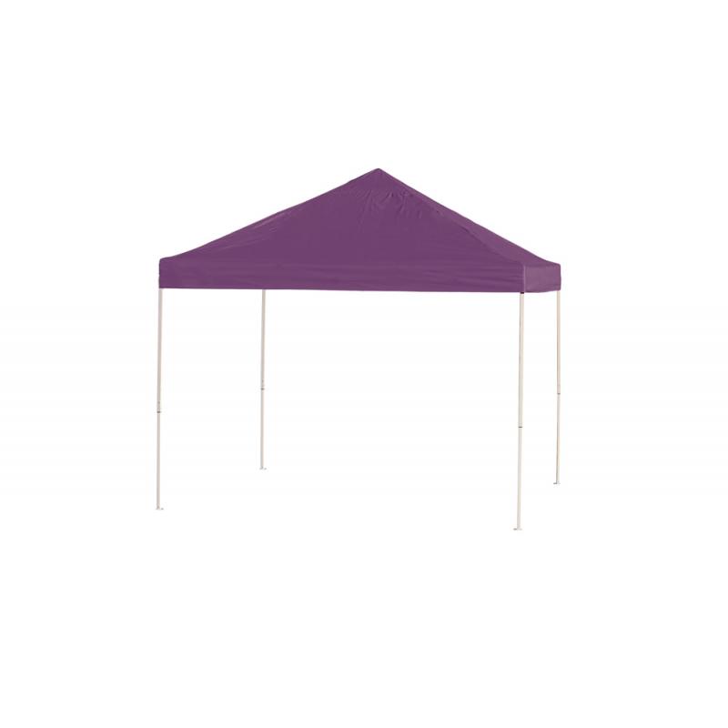 ShelterLogic 10x10 Straight Leg Pop-up Canopy - Purple (22703)
