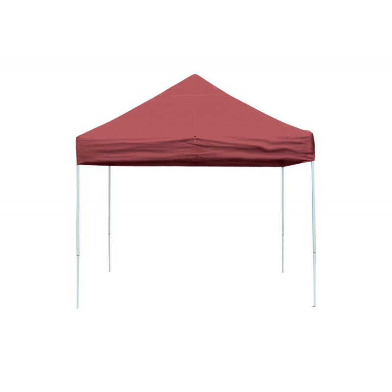 Shelter Logic 10x10 Straight Leg Pop-up Canopy - Red (22561)