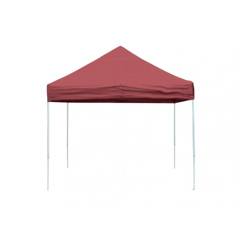 ShelterLogic 10x10 Straight Leg Pop-up Canopy - Red (22561)