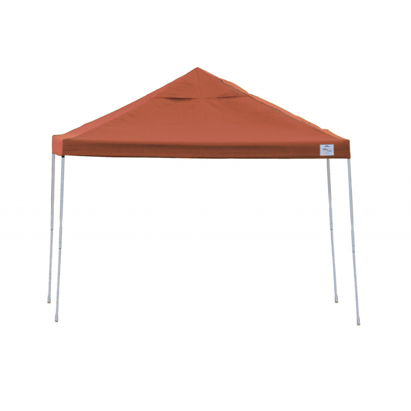 Shelter Logic 10x10 Straight Leg Pop-up Canopy - Terracotta (22738)
