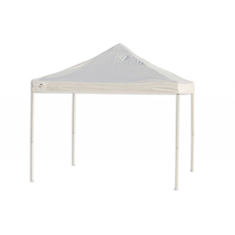 Shelter Logic 10x10 Straight Leg Pop-up Canopy - White (22596)