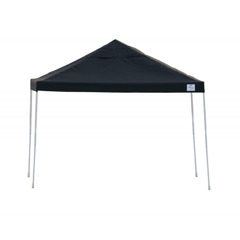 Shelter Logic 12x12 Straight Leg Pop-up Canopy - Black (22541)