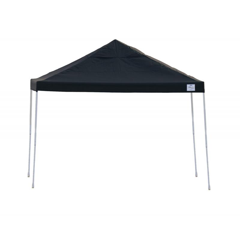 Shelter Logic 12x12 Straight Leg Pop-up Canopy - Black (22541)