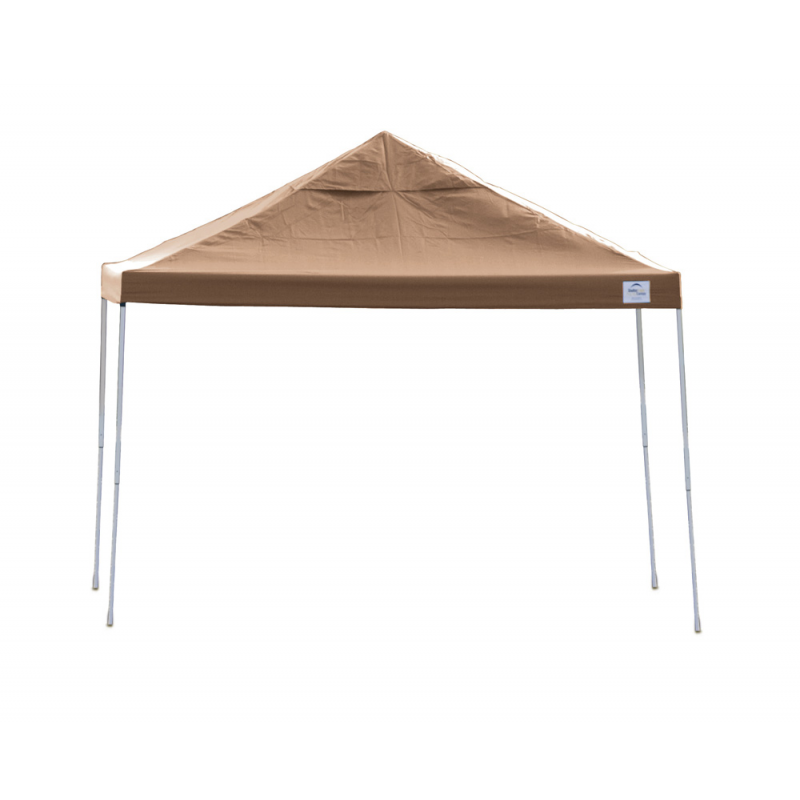 Shelter Logic 12x12 Straight Leg Pop-up Canopy - Bronze (22542)