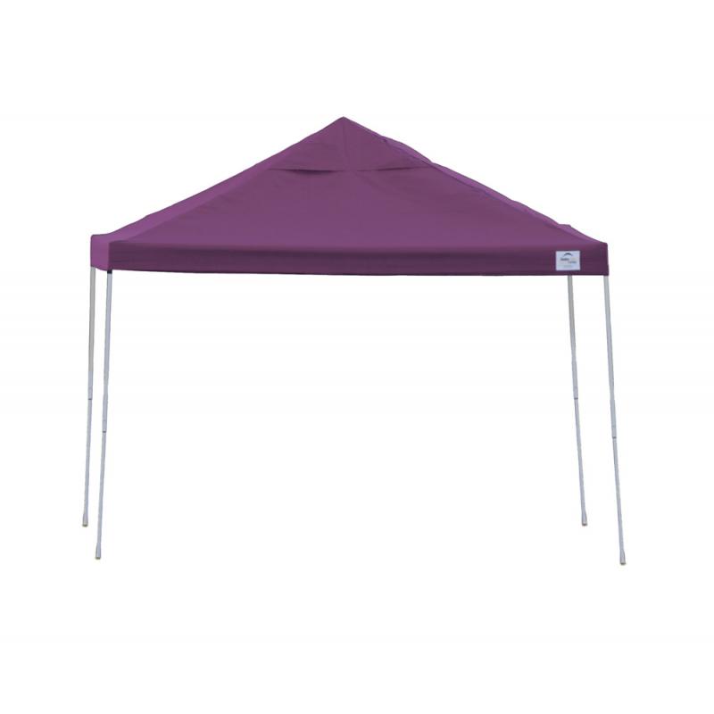 Shelter Logic 12x12 Straight Leg Pop-up Canopy - Purple (22707)