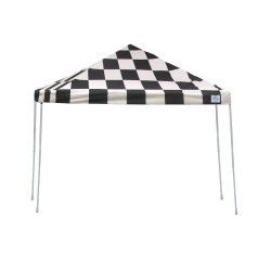 ShelterLogic 12x12 Straight Leg Pop-up Canopy - Checkered (22543)