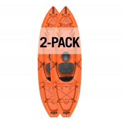 Lifetime Emotion Spitfire 9' Sit-On-Top Kayak - 2 Pack (90950)