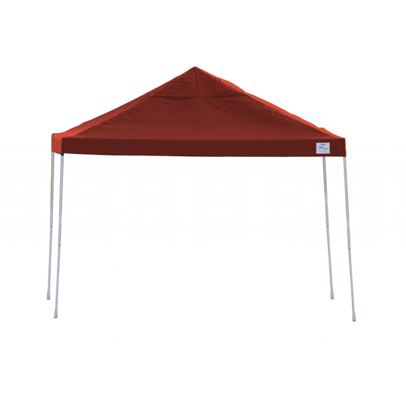 ShelterLogic 12x12 Straight Leg Pop-up Canopy - Red (22539)