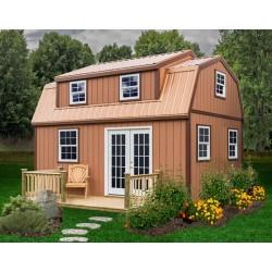 Best Barns Lakewood 12x18 Wood Storage Shed Kit (lakewood_1218)