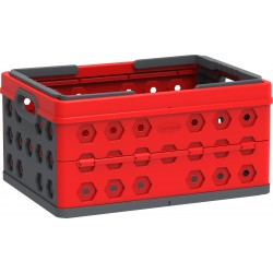 DuraMax Foldable Basket - Red w/ Gray (86200)