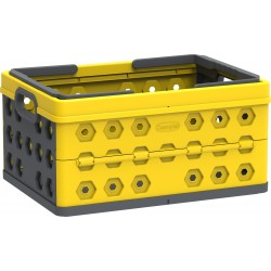 DuraMax Foldable Basket - Yellow w/ Gray (86201)