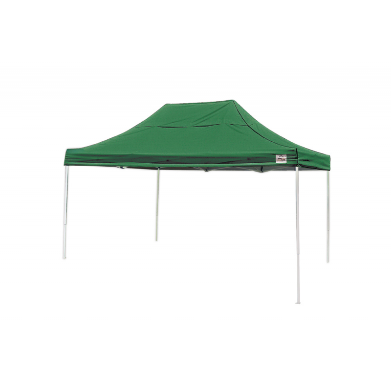 Shelter Logic 10x15 Straight Leg Pop-up Canopy - Green (22552)