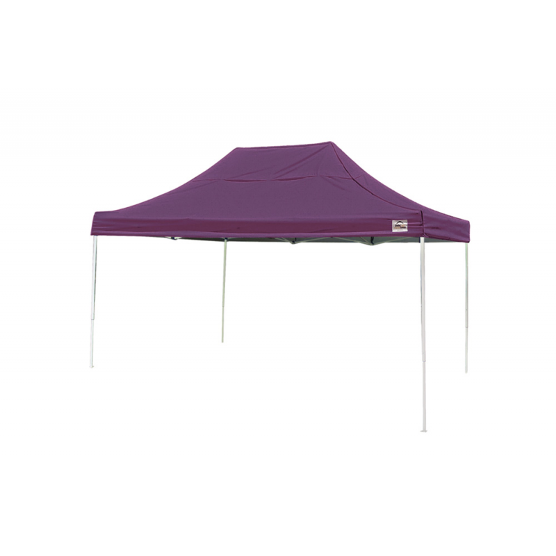 Shelter Logic 10x15 Straight Leg Pop-up Canopy - Purple (22704)