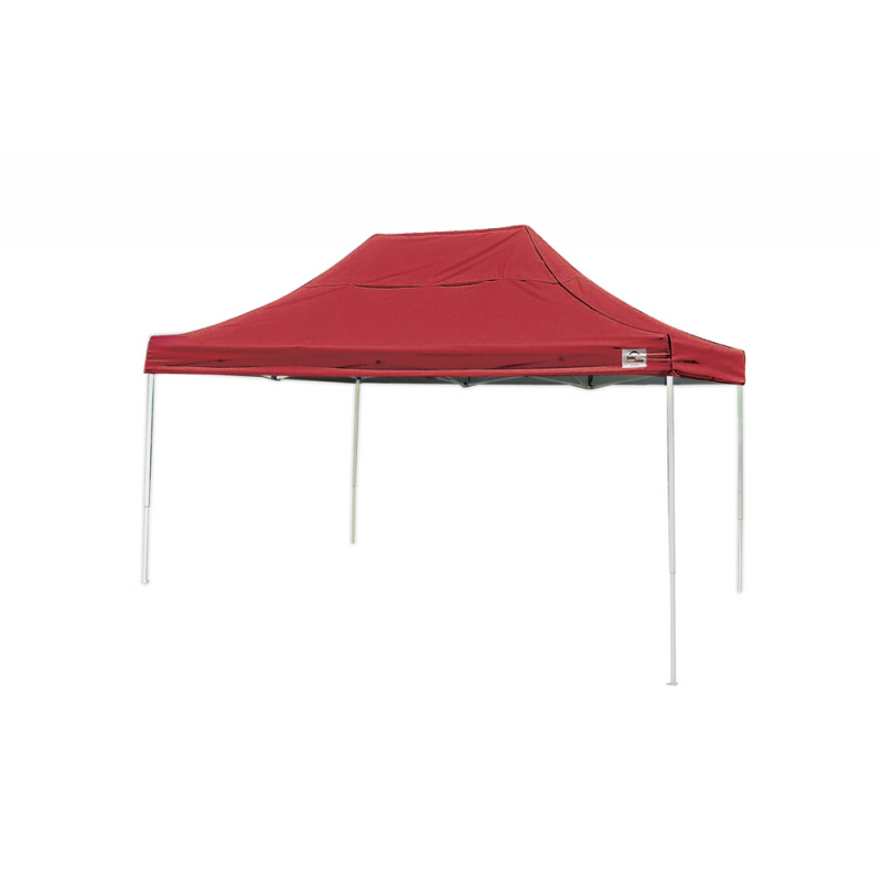 Shelter Logic 10x15 Straight Leg Pop-up Canopy - Red (22550)