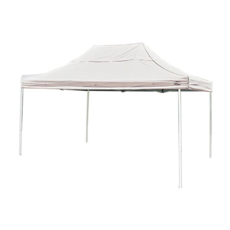 ShelterLogic 10x15 Straight Leg Pop-up Canopy - White (22599)