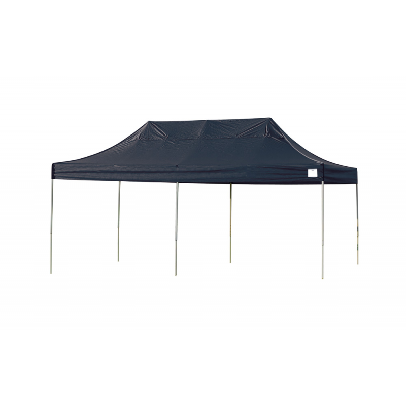 Shelter Logic 10x20 Straight Leg Pop-up Canopy - Black (22536)
