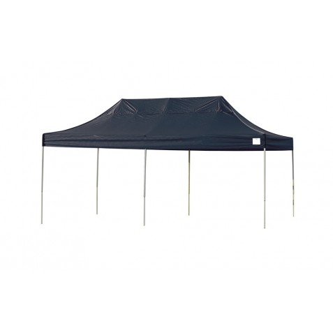 ShelterLogic 10x20 Straight Leg Pop-up Canopy - Black (22536)