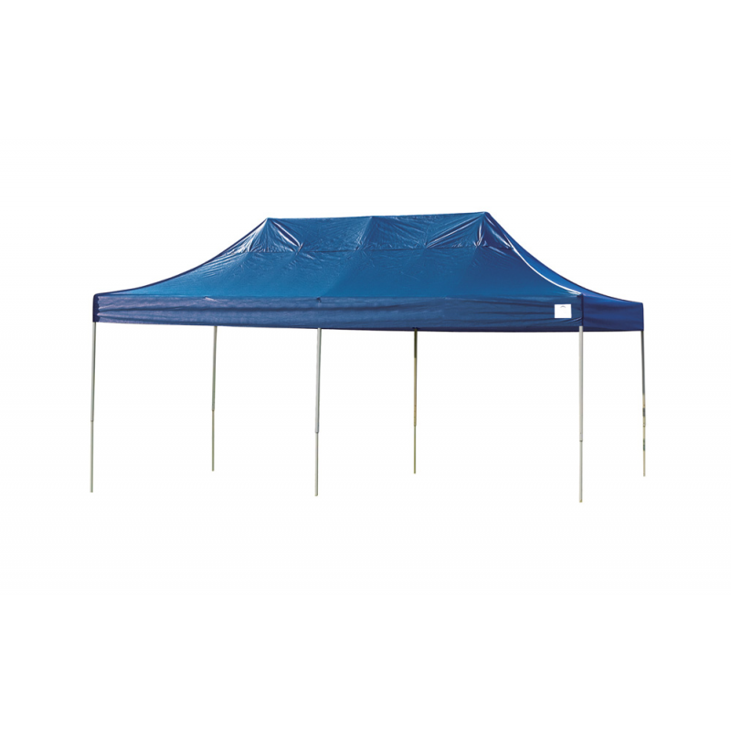 Shelter Logic 10x20 Straight Leg Pop-up Canopy - Blue (22535)