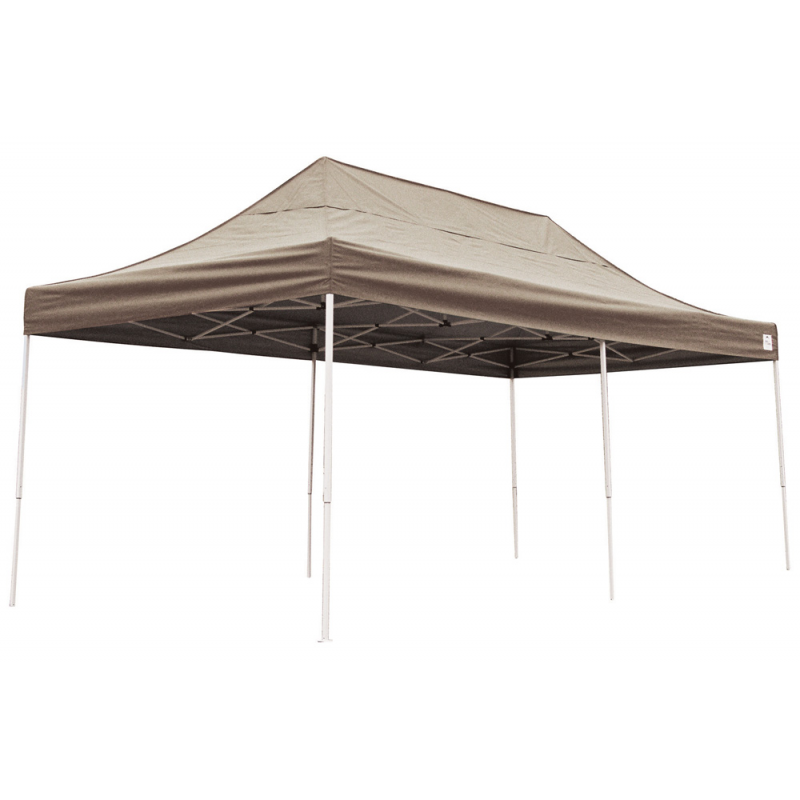Shelter Logic 10x20 Straight Leg Pop-up Canopy - Bronze (22583)