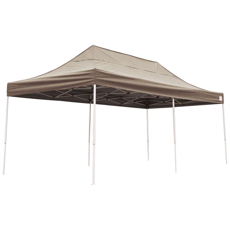 ShelterLogic 10x20 Straight Leg Pop-up Canopy - Bronze (22583)