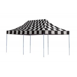 ShelterLogic 10x20 Straight Leg Pop-up Canopy - Checkered (22533)