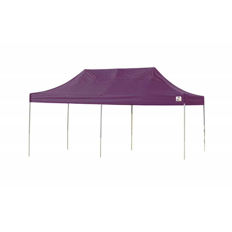 Shelter Logic 10x20 Straight Leg Pop-up Canopy - Purple (22705)