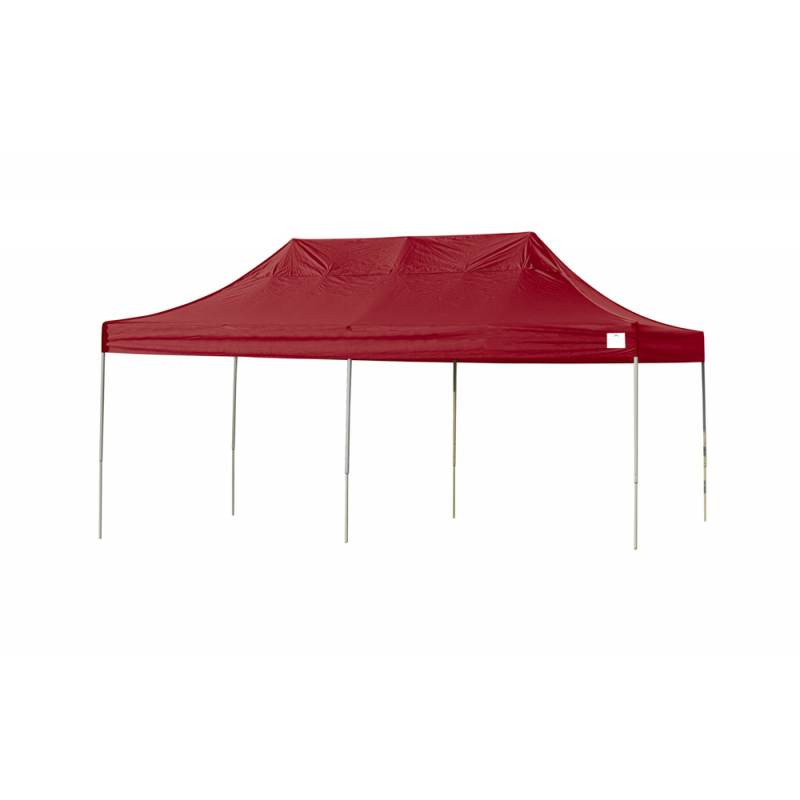ShelterLogic 10x20 Straight Leg Pop-up Canopy - Red (22537)