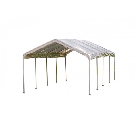 Shelter Logic 12×26 Canopy - White (25770)