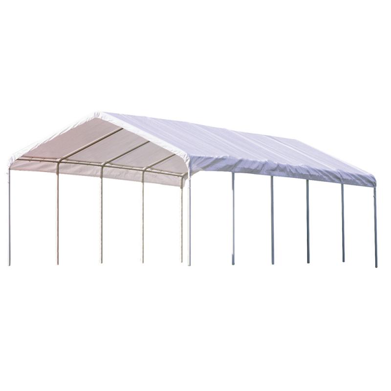 Shelter Logic 12×30 Canopy - White (25767)