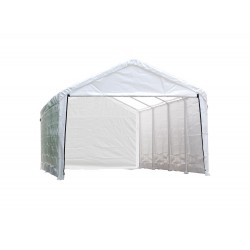 ShelterLogic 12×26 Canopy Enclosure Kit - White (25776)