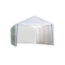 ShelterLogic 12×26 Canopy Enclosure Kit - White (25776)