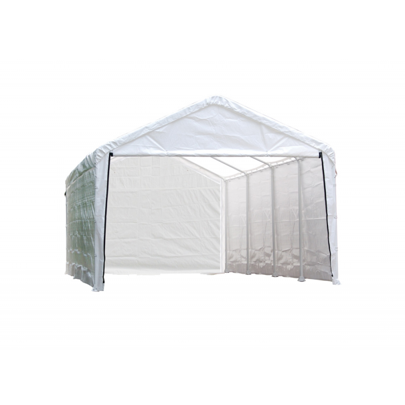 Shelter Logic 12×26 Canopy Enclosure Kit - White (25776)
