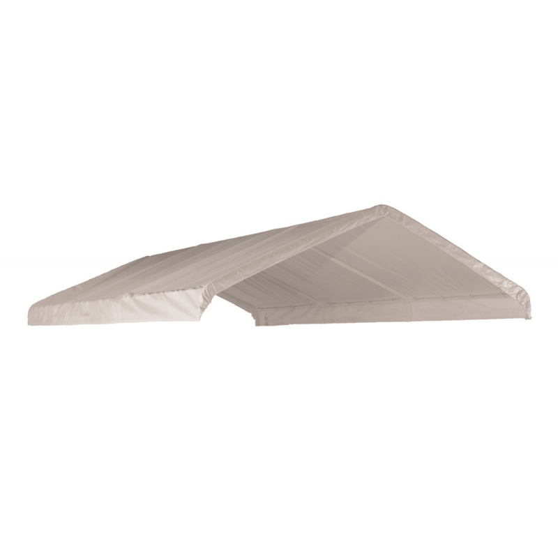 ShelterLogic 12×20 Canopy Replacement Cover - White (10049)