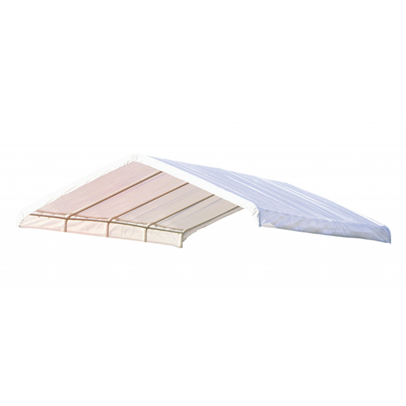 Shelter Logic 12×26 Canopy Replacement Cover - White (10059)