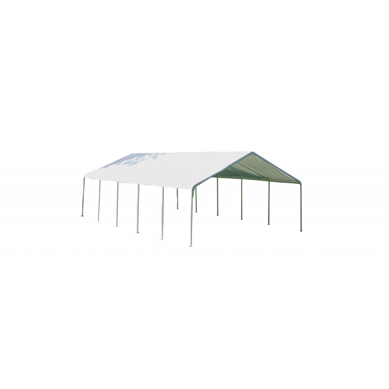 Shelter Logic 18×40 Canopy - White (26764)