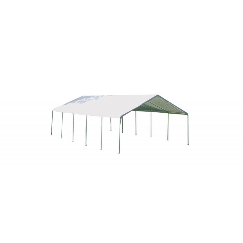 Shelter Logic 18×40 Canopy - White (26764)