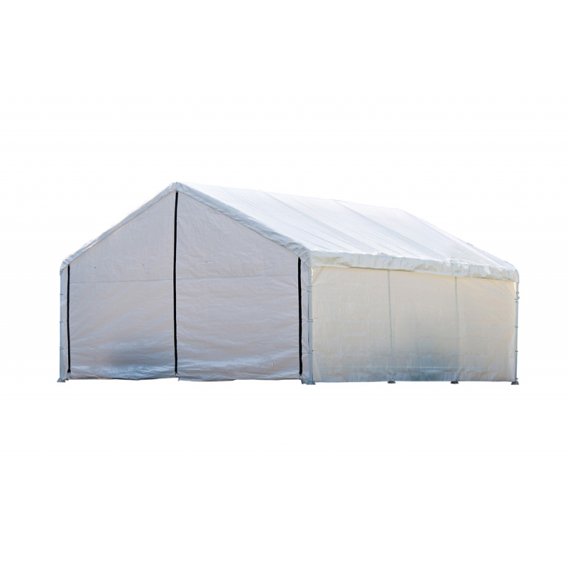Shelter Logic 18×20 Canopy Enclosure Kit - White (26775)