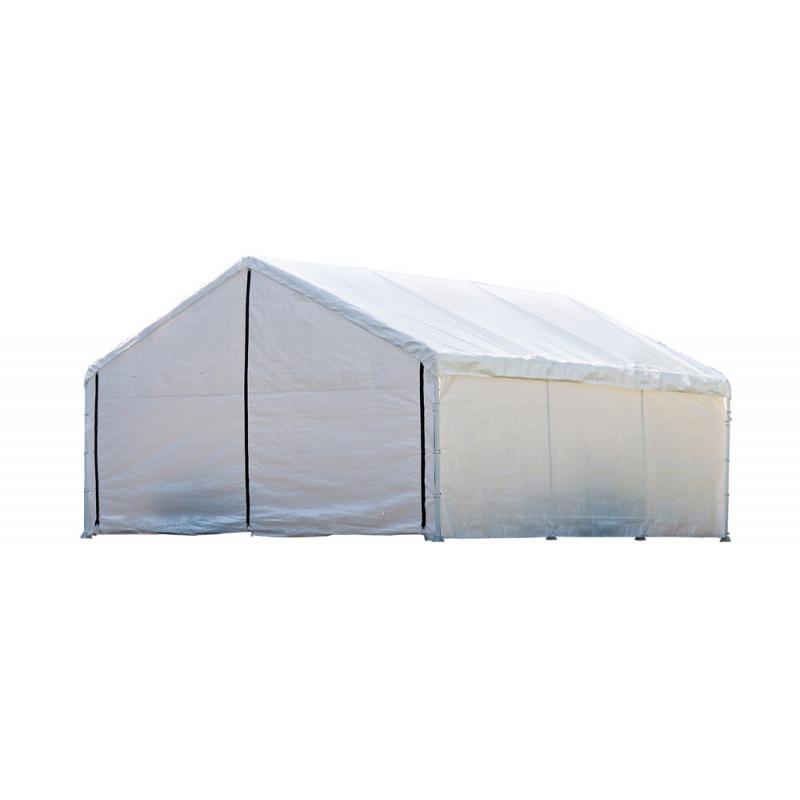 ShelterLogic 18×20 Canopy Enclosure Kit - White (26775)