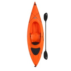 Lifetime Payette 98 Sit-In Kayak with Paddle - Orange (90899)