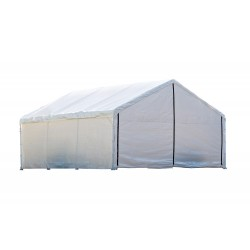 Shelter Logic 18×40 Canopy Enclosure Kit - White (26180)