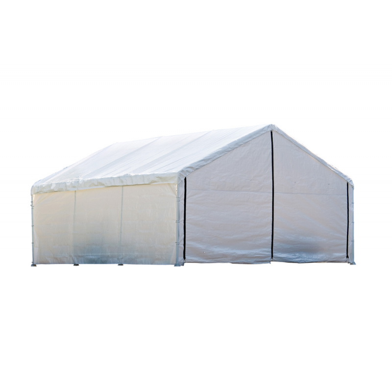 ShelterLogic 18×40 Canopy Enclosure Kit - White (26180)