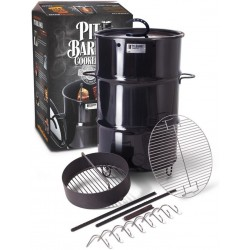 Pit Barrel 18.5″ Classic Cooker - Charcoal (PKG1001)