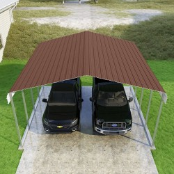 VersaTube 20x20x10 Classic Steel Carport Kit (CM020200100)