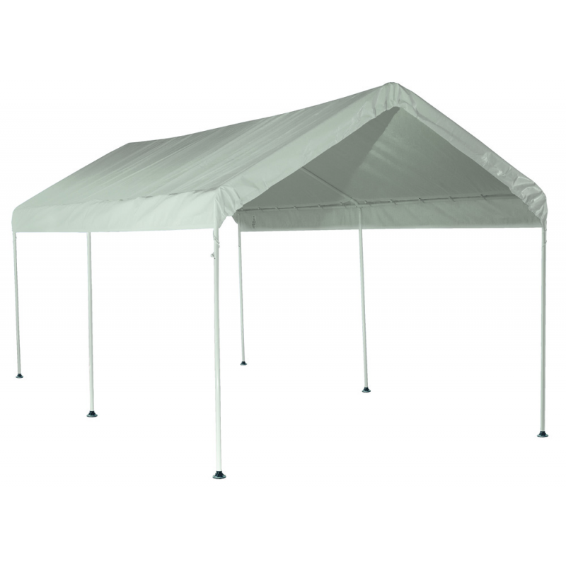 ShelterLogic 10'×20' Canopy - White (25757)