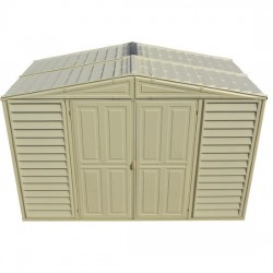 10.5x5 Woodbridge Vinyl Shed w/ Foundation (00283)