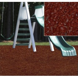KidWise Playground Recycled Rubber Mulch - Cedar Red (KW-RM-2000)