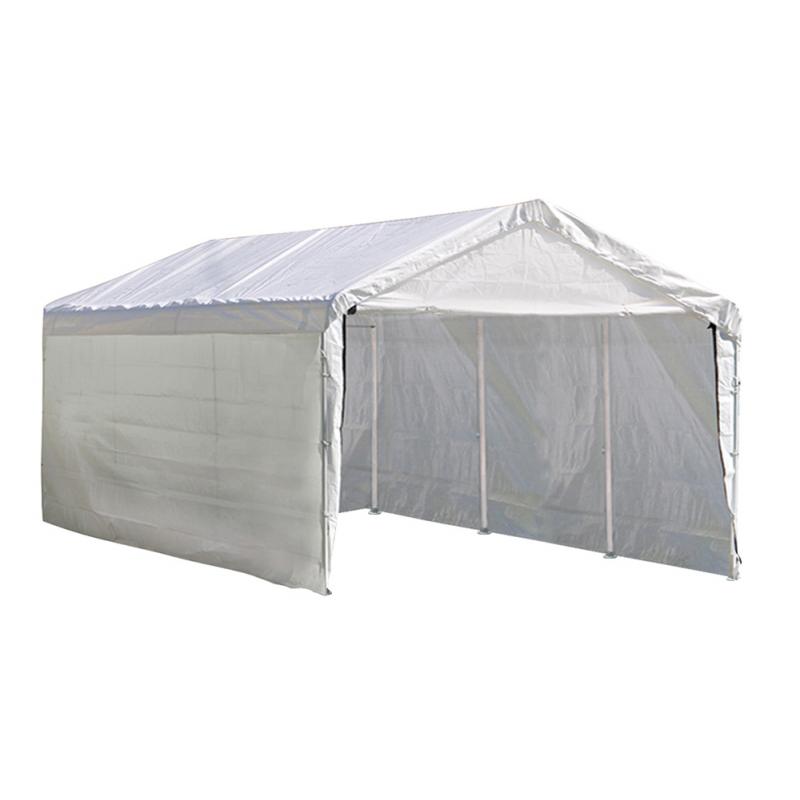 ShelterLogic 10'×20' Canopy - White (23532)